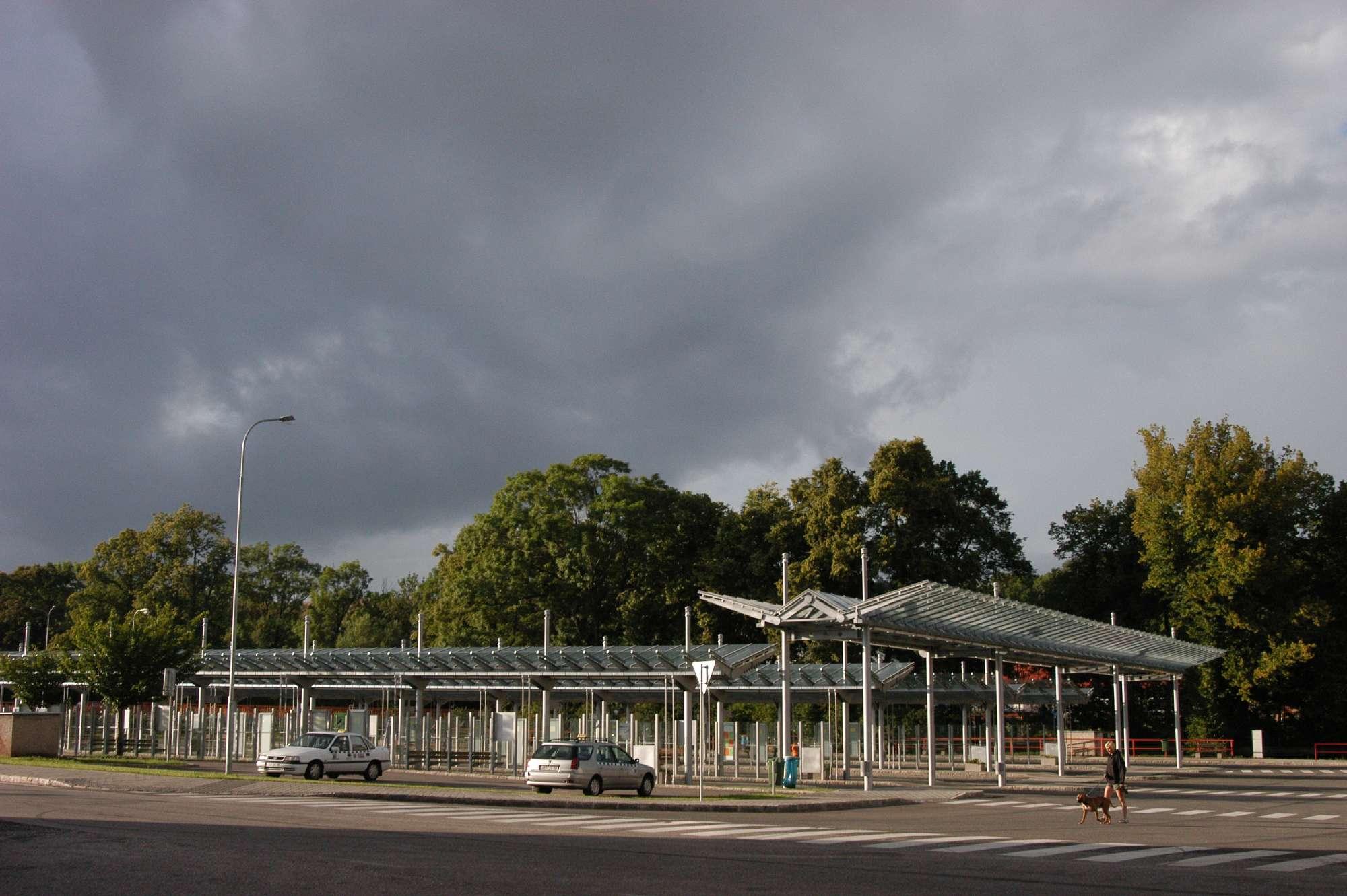 Trutnov - autobusové nádraží