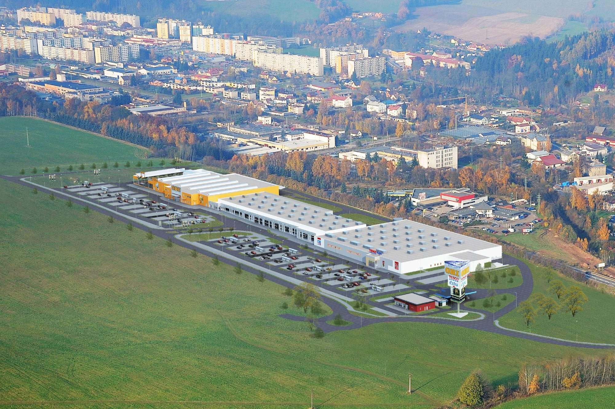 Trutnov - Obchodní zóna Krkonošská