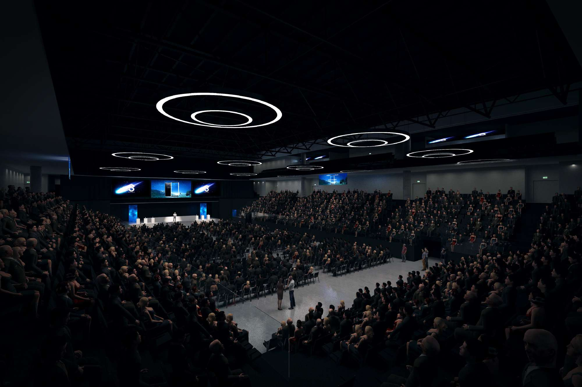 Praha - O2 arena - Kongresová aréna